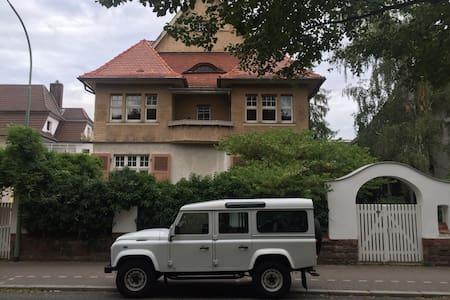 Denkmalgeschützte Jugendstilvilla - Friedberg (Hessen)