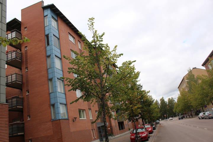 Two bedroom apartment in Lahti, Kauppakatu 38