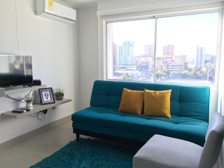 Apartamento  para  tu comodidad en la ciudad.