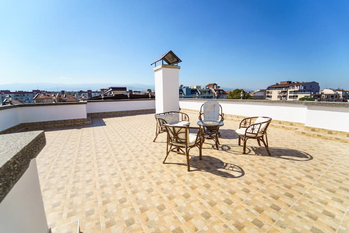 Maisonette Apartment with Big Roof Terrace
