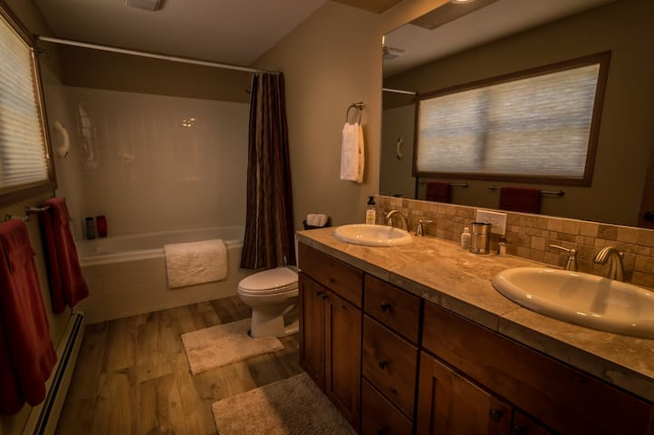 Full bathroom - attached