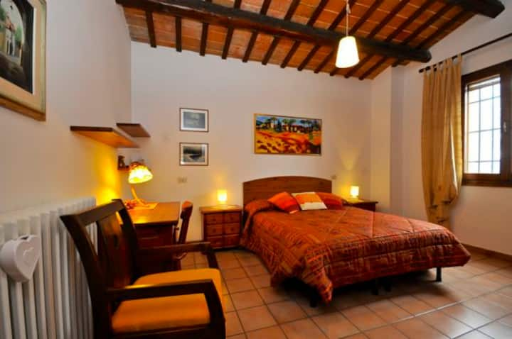 Rooms in villa: 1 Room for4 peoples or 2 R. for 6