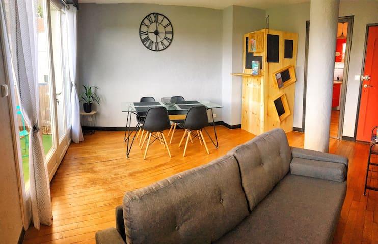 Agréable appartement en centre-ville