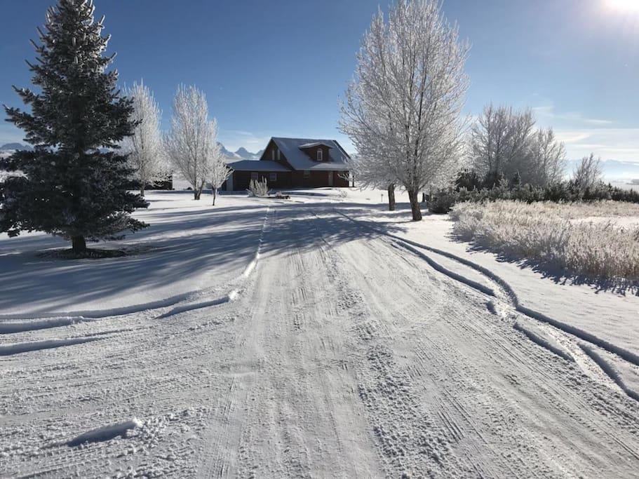 Entry in Winter