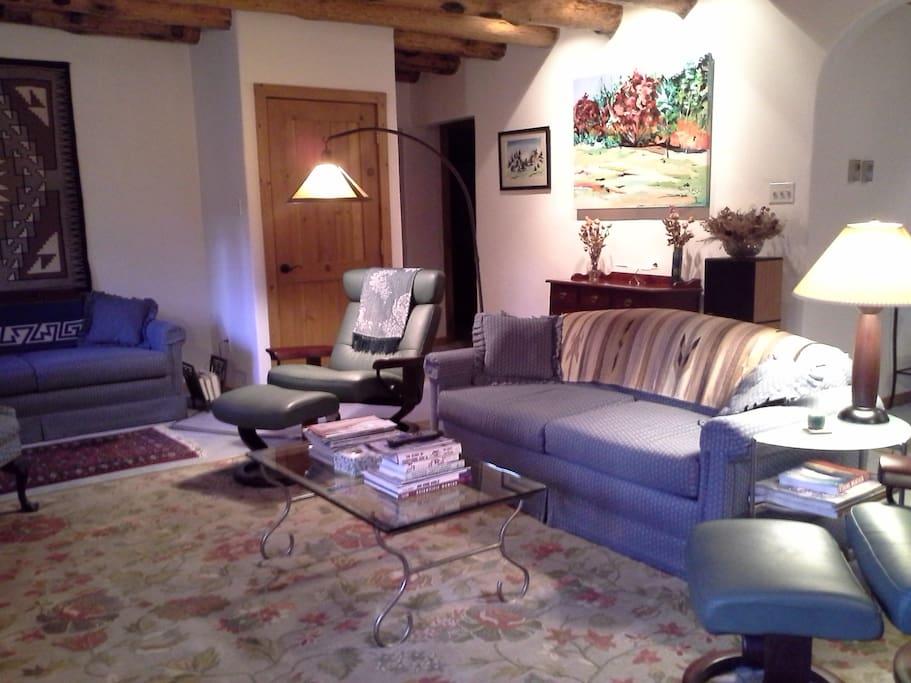 Comfortable living room...