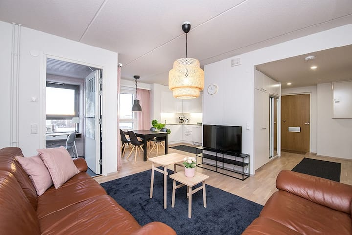 New and modern two bedroom apartment