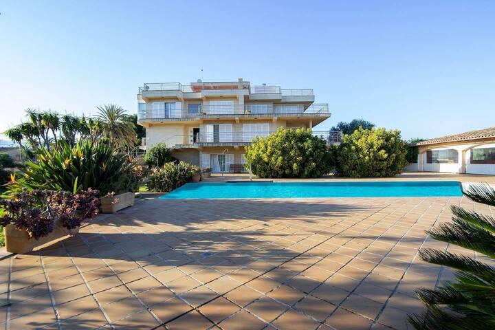 Fantástica Villa a 5 Km de Palma