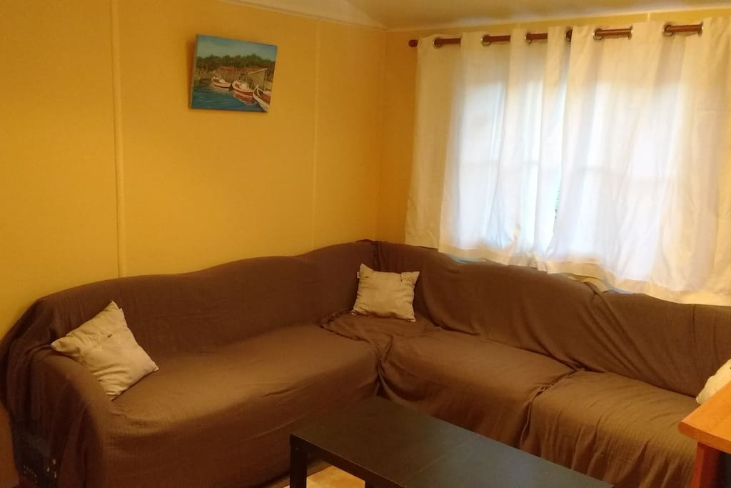le salon (canapé lit)