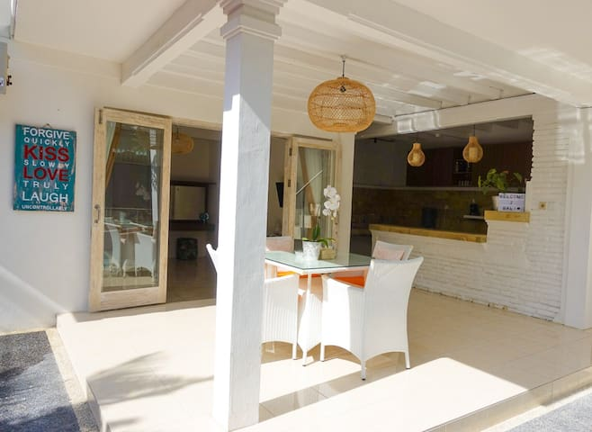 Cozy 2BR villa nearby beach with private pool
