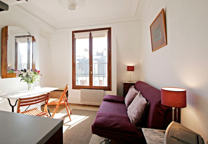 Charming one bedroom Paris 11th  Republique