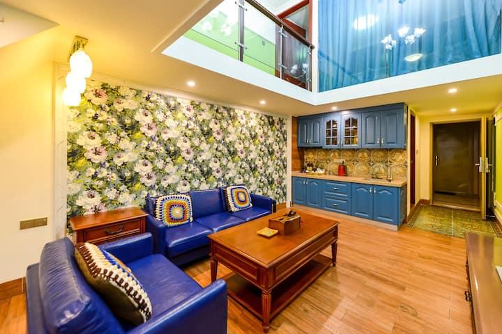 长隆欢乐世界度假区温馨馨浪漫舒适的咖啡旅馆,文艺风浓郁。
