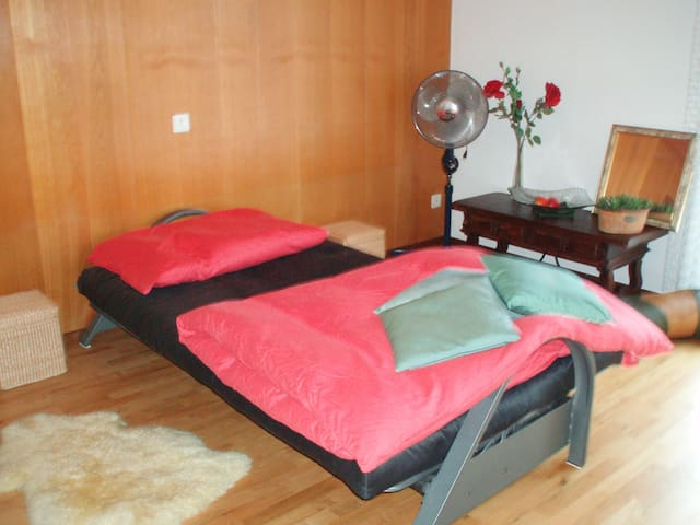 """Zimmer """"Relax"""" mit Balkon - Uetliburg - บ้าน"""