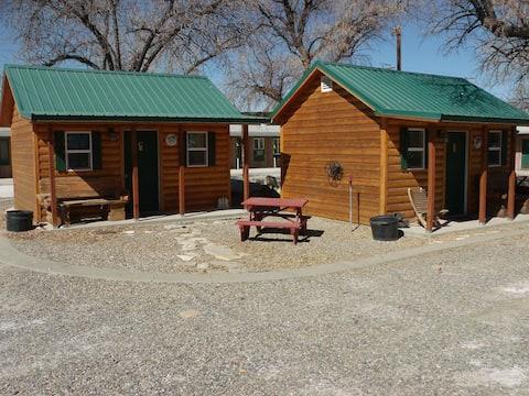 Antler Motel-- Camping Cabins