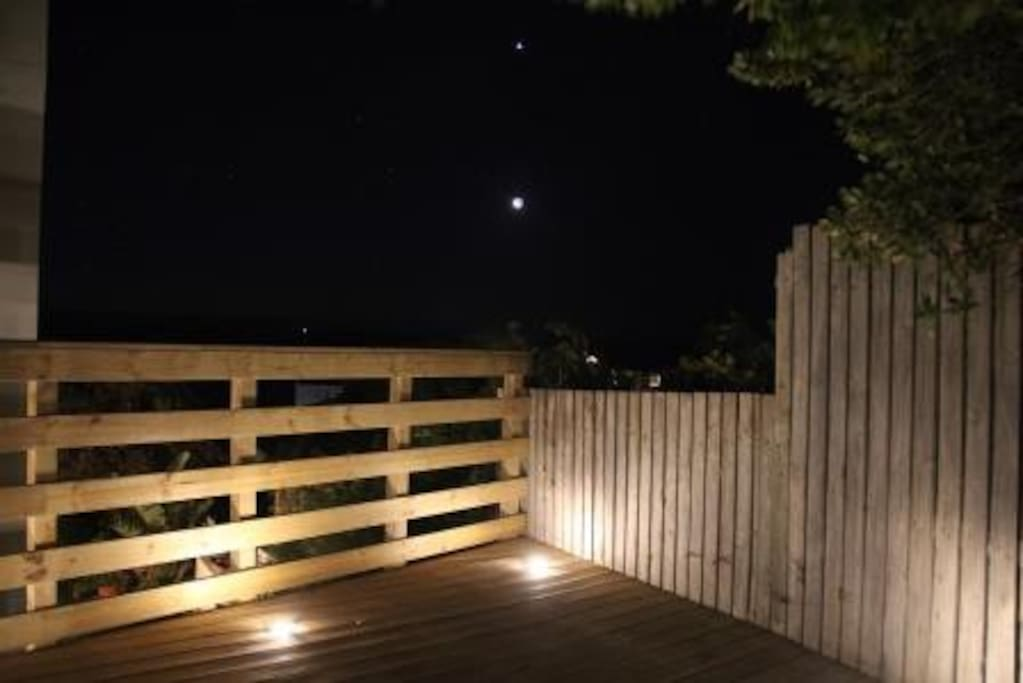 Enjoy an evening barbeque on the deck