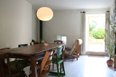 House with garden in charming village in Auvergne - Blesle