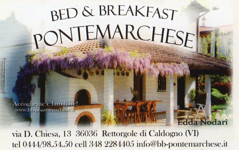 Bed & Breakfast Ponte Marchese - Rettorgole - Caldogno - Bed & Breakfast