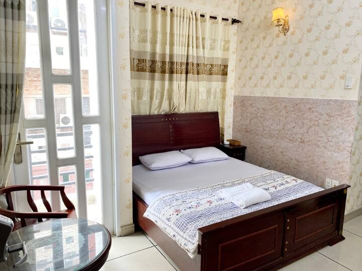 Cozy Double Room at Ngoc Huy Hotel