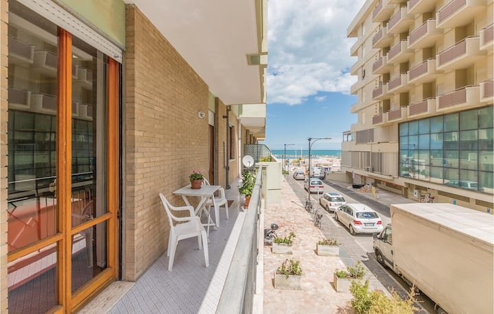 Stunning home in Cattolica with WiFi and 2 Bedrooms