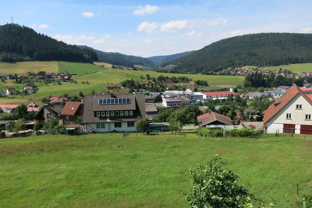 rundum Panoramablick