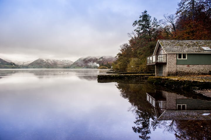 Lake District Ullswater Far Boathouse Romantic