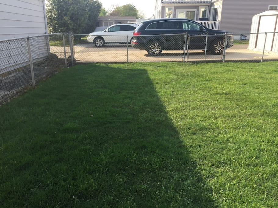 parking in rear and fully fenced yard
