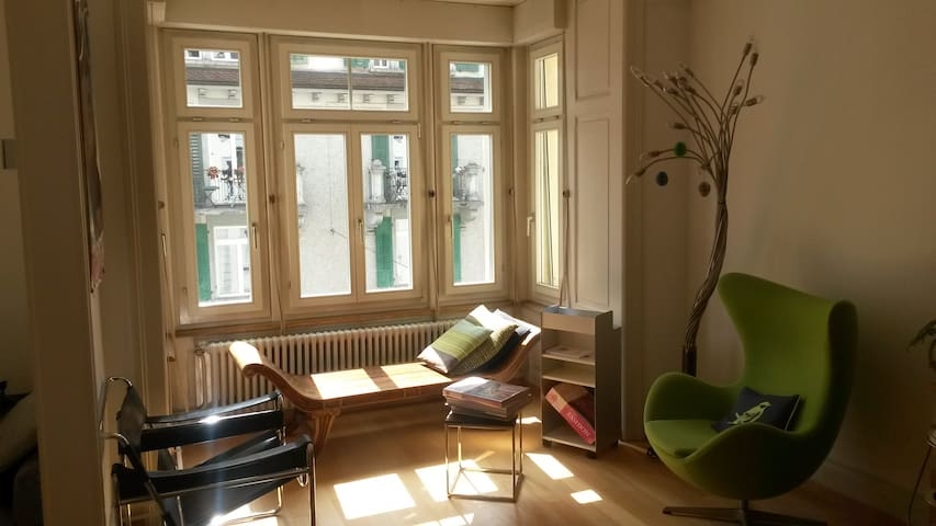 central and charming flat with a view - Luzern - Apartment