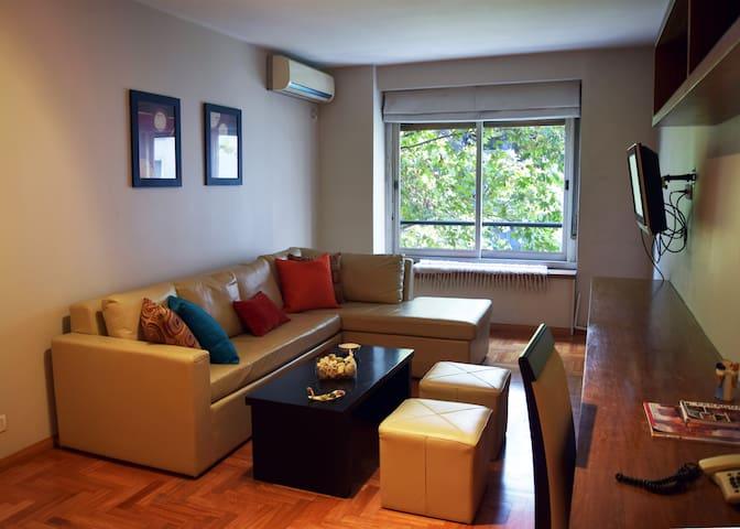 Cálido y amplio apartamento en Recoleta. Amenities