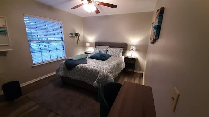 Bedroom B with social room in quiet neighborhood
