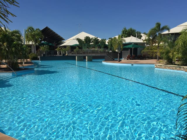 Luxury Executive Apartment at Broome Cable Beach..