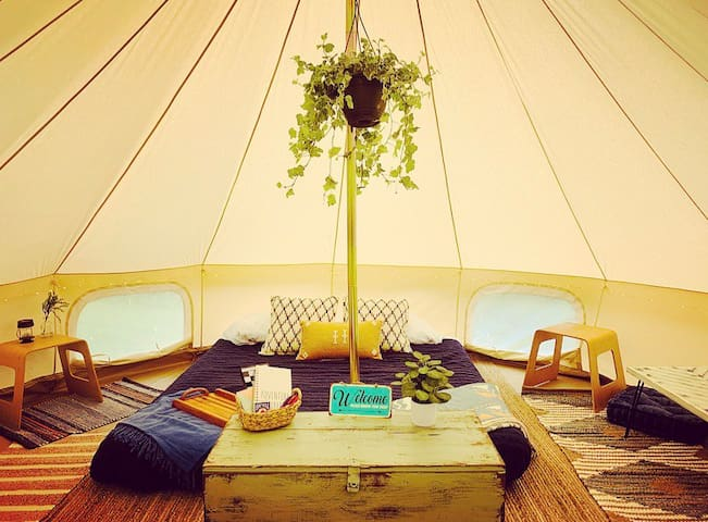 "NEW! ""Arbor"" the Glamping Tent"