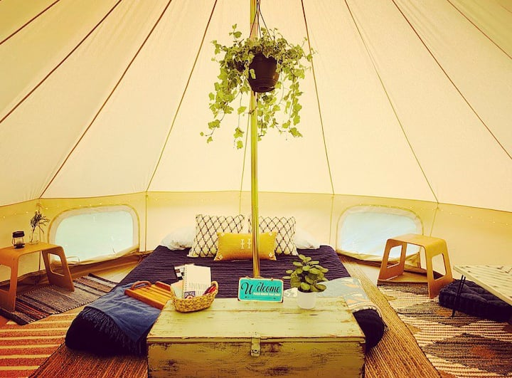"""NEW! """"Arbor"""" the Glamping Tent"""