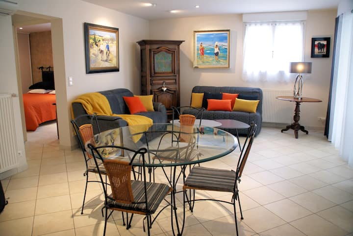Appartement bord de mer, charme et qualité, calme