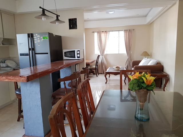 3bdr home 8 up to 10 pax center of Bacolod