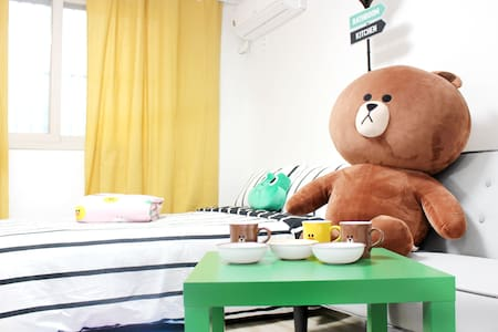#2New Open! Stay with Brown! Dongdaemun-gu 东大门 - Dongdaemun-gu - Apartment