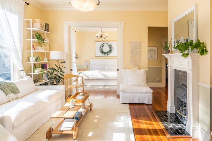 Peaceful & stylish apt in the heart of Noe Valley
