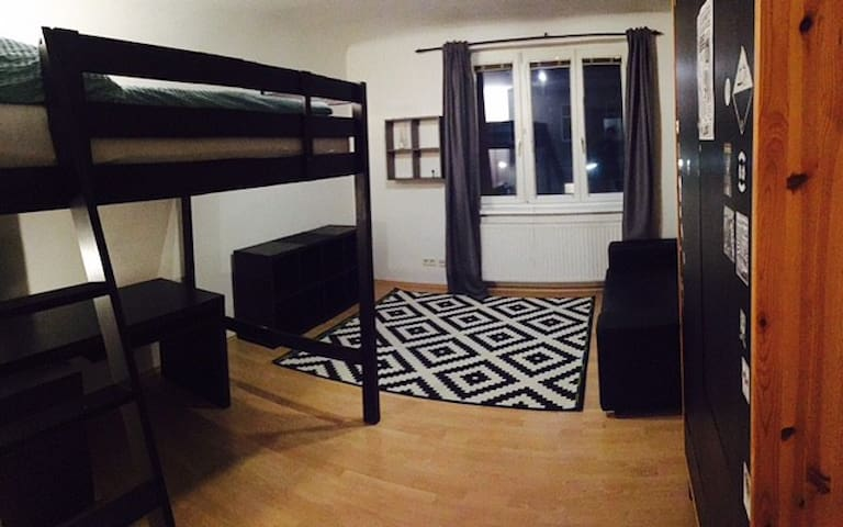 whole apartment-clean, cozy, next to mainstation