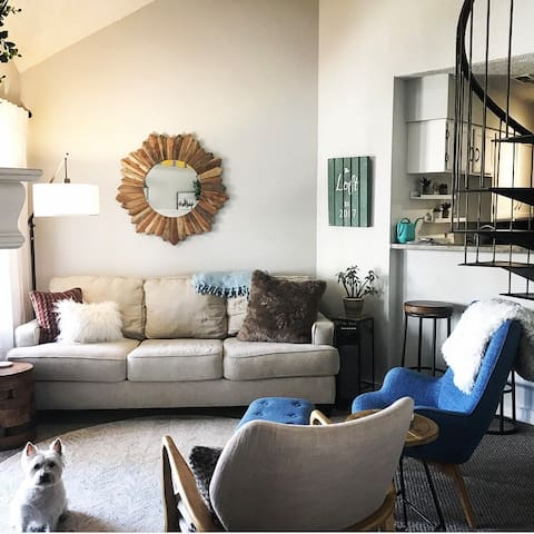 The Loft; 10 minutes to downtown Boulder!