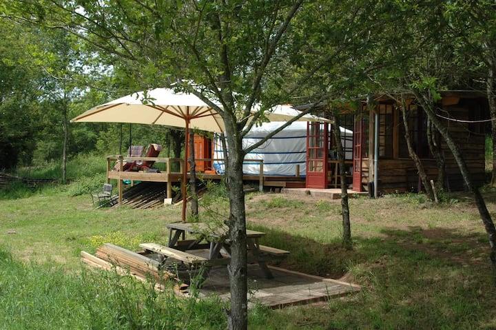 The yurt of Domayne les Rues