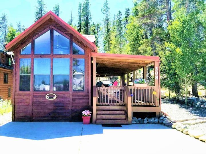 Peaceful Bear Serenity Tiny House Cabin
