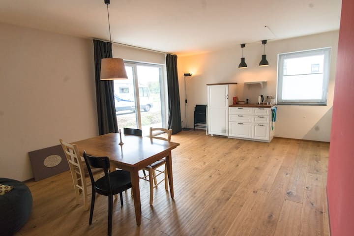Spacious apartment near the train station