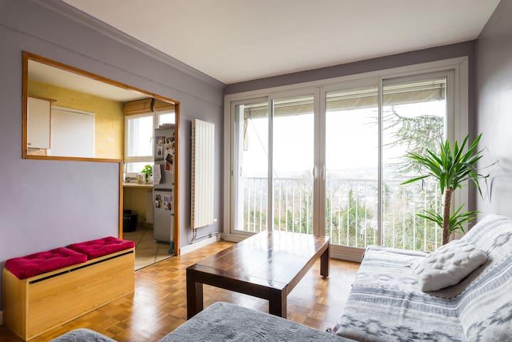 Appartement calme et lumineux! - Fontaines-sur-Saône - Apartment