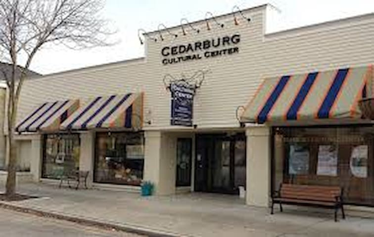 Cedarburg Cultural Center and Artist Guild. A great place to rent for a special event.