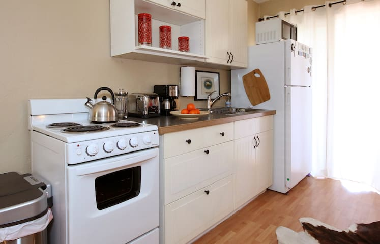 Kitchen best suited for minimal cooking