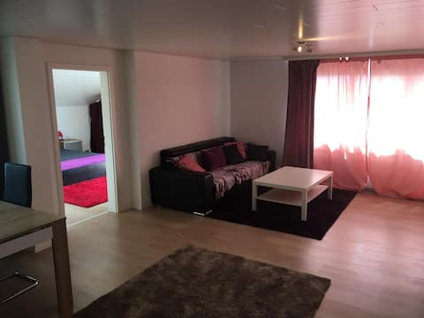Bel appartement avec balcon et parking gratuit