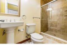 Full bathroom in Basement (private bath)
