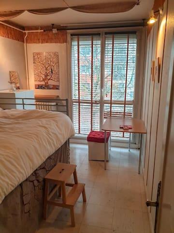 Paris 13ème,  chambre dans appartement chaleureux.