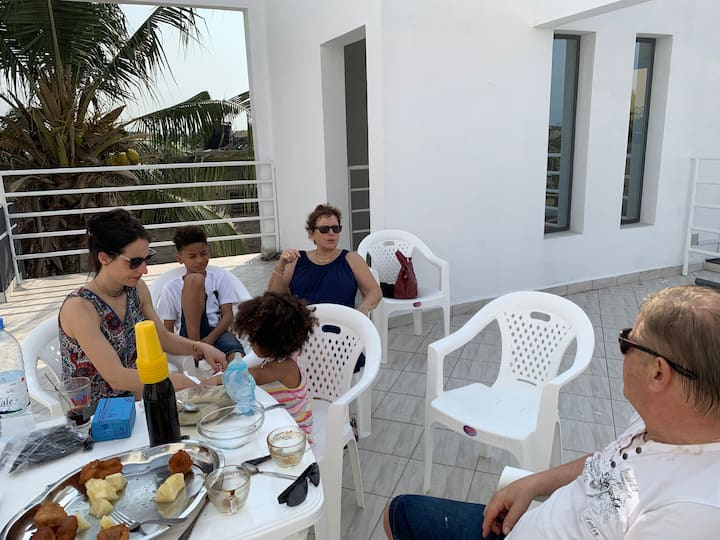 Maison KOUDOU (Très agréable au coeur de Lomé)