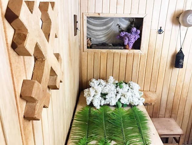 Sauna with accomodation and breakfast for 2 people