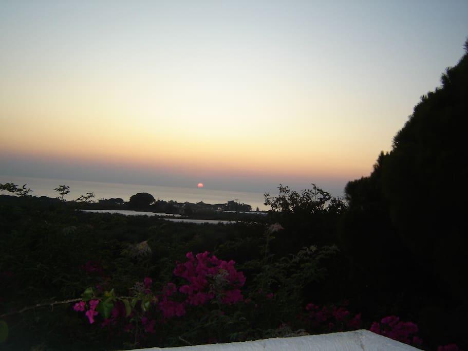 Veranda Sunset