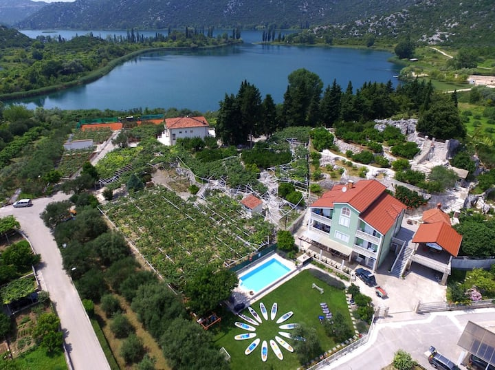 Villa Solo,Hidden Croatia, Rural villa with pool